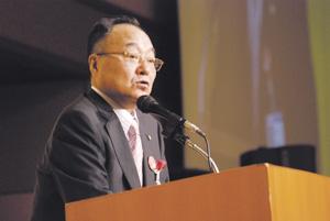 ㈱松源創立50周年記念式典