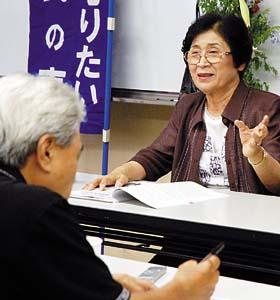 戦争の経験を振り返る平井さん - 戦争の悲惨さ後世に、「市民のつどい」で体験者語る