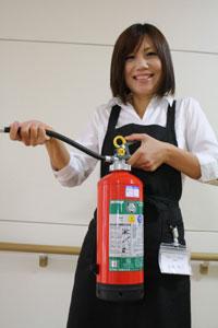 社会福祉法人喜成会・養護老人ホーム喜和の郷の生活支援員、玉置輝子さん(46)