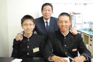 和歌山市立城東中学校職場体験