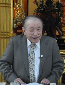 浄土真宗と和歌の浦について語る薗田名誉教授