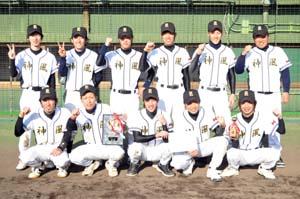 優勝した神風のメンバー - 神風がサヨナラV、W―1軟式野球