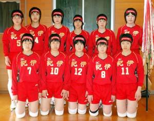 女子2年連続Vの紀伊 - 明和男子が5連覇 中学バレーボール選手権