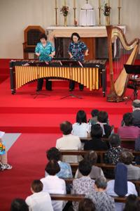 カトリック屋形町教会で復興支援コンサート