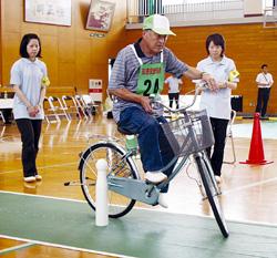 交通安全高齢者自転車競技大会
