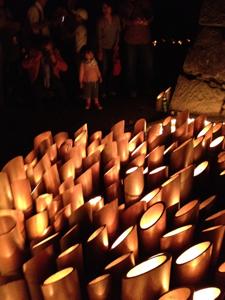 第6回まちなかキャンドルイルミネーション 竹燈夜