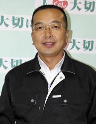 杉 勝則ゆたかで住みよい和歌山県をつくる会事務局長(45)