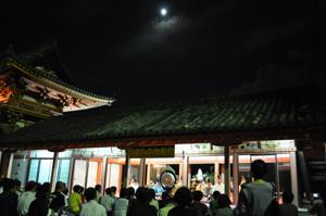 中秋の名月管絃祭