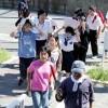 和歌山ろう学校が初の津波避難訓練