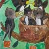 平成24年度愛鳥週間用ポスター原画