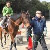 河西緩衝緑地 乗馬体験