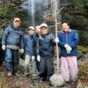 不動の滝 天狗岩