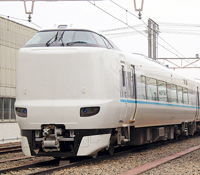 くろしお号に導入されるJRの新型車両(中尾佳正さん撮影)