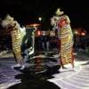春日組 獅子舞