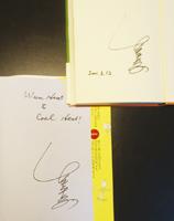 11年前、吹上小でもらった竹中先生のサイン