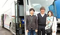 左から、岸村さん、アルフレッドさん、辻井さん