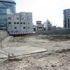 高層マンションの建設が予定されている近鉄会館跡