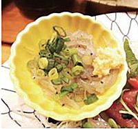 生しらすを用いた料理(焼津)