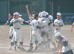 10年ぶりの優勝を飾った市立和歌山ナイン