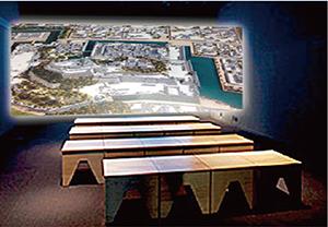 1度に30人が収容可能な「VRシアタールーム」のイメージ(和歌山市提供)