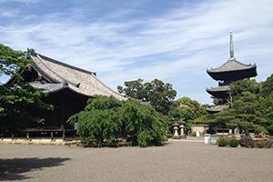 清姫ゆかりの道成寺