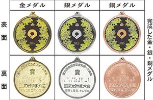 紀の国わかやま国体 メダル