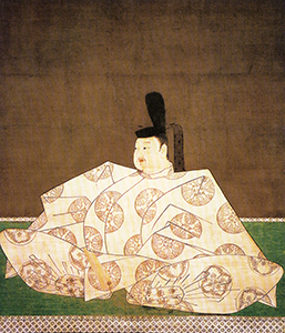 絹本著色鳥羽天皇像