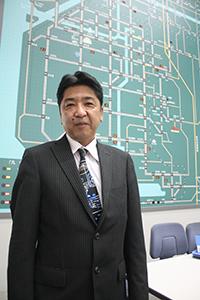 「今後も交通事故減に努めます」と稲田さん