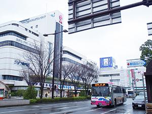 16年連続で県内商業地の最高価格地点となった和歌山市友田町