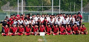 全試合無失点で2連覇を達成した和歌山工(提供写真)