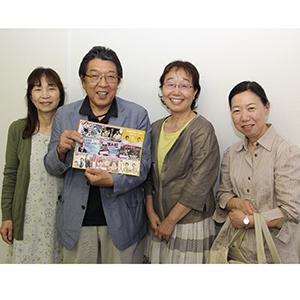 設立50周年を迎える和歌山演劇鑑賞会の皆さん