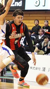 エースとして2年間チームを引っ張った川村選手