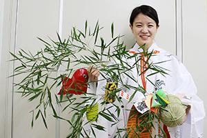 160109【来社】東の宮恵美須神社の福娘さん