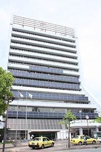 和歌山電力に切り替えられる予定の市役所