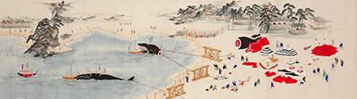 紀州太地浦鯨大漁之図(太地町立くじらの博物館所蔵)