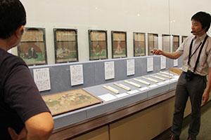 市指定文化財の三十六歌仙額や奉納和歌を紹介