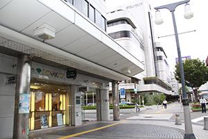 商業地で18年連続1位となった「和歌山市友田町5丁目50番外」付近