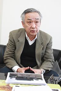 新組合の代表理事に就任予定の山本さん