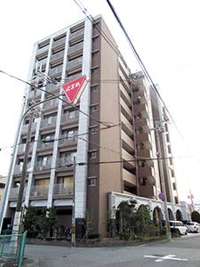 住宅地で県内最高価格となった「和歌山市美園町2丁目80番」付近