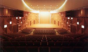 基本設計案で示された小ホールのイメージ