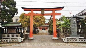 「五社神社・諏訪神社」