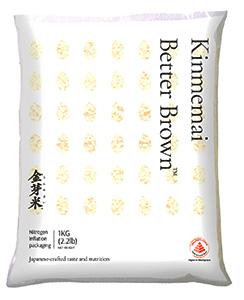 海外向け「金芽ロウカット玄米」のパッケージ