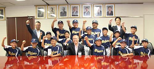 全国大会へ意気込む和歌浦スポーツ少年団