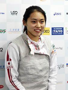 優勝した東晟良選手