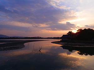 日本遺産に認定された和歌の浦(県提供)