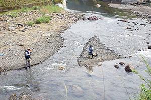 楽しい渓流釣り
