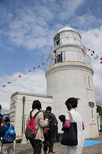 公開される友ケ島灯台