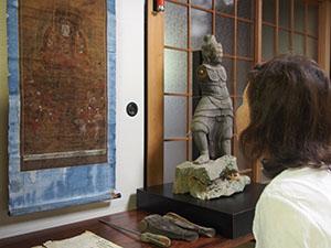 初公開された仏像と仏画
