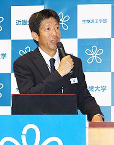 犯罪捜査の変化を語る宮沢本部長