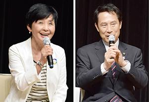 IRに反対する島氏㊧、「IRは議会で諮りたい」と尾花氏